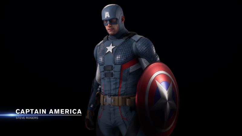 Marvel's Avengers - zwiastun przedstawia alternatywny strój Kapitana Ameryki