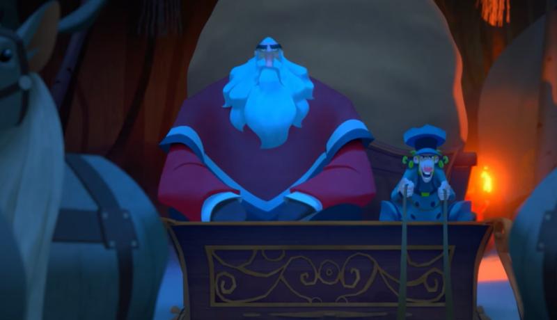 Klaus - zwiastun świątecznej animacji od Netflixa