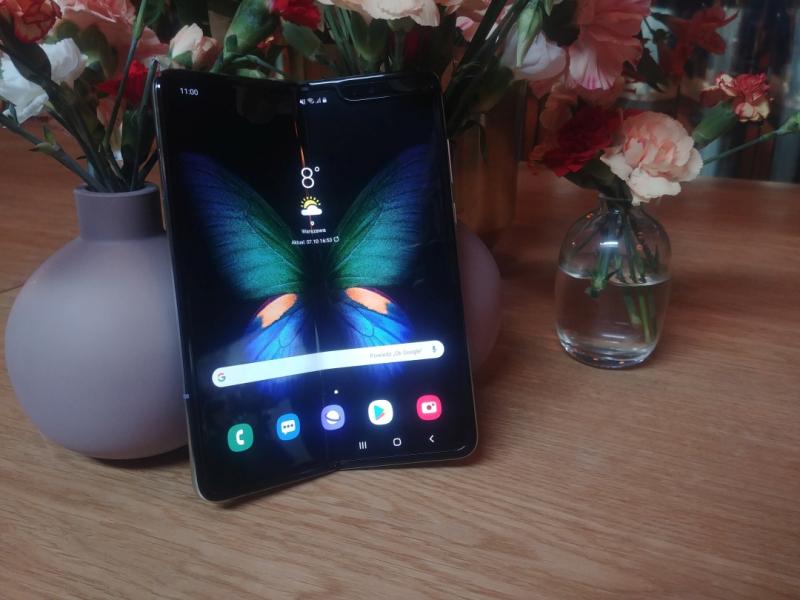 Samsung Galaxy Fold – godzina ze składanym smartfonem Samsunga
