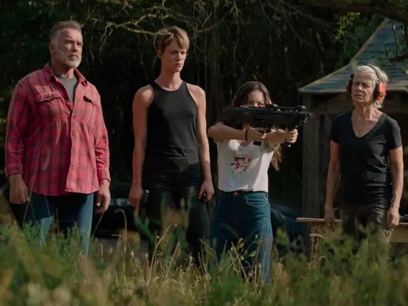Terminator: Mroczne przeznaczenie - Grace kontra Rev 9 w nowym klipie z filmu
