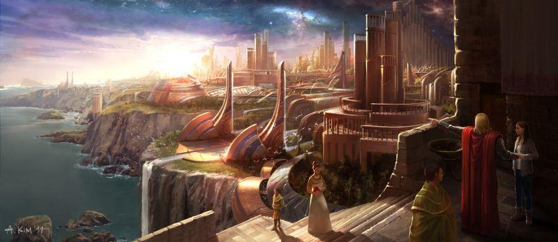 Thor: Mroczny świat - tak kształtowała się wizja filmu MCU. Mads Mikkelsen mógł mieć rolę [SZKICE]