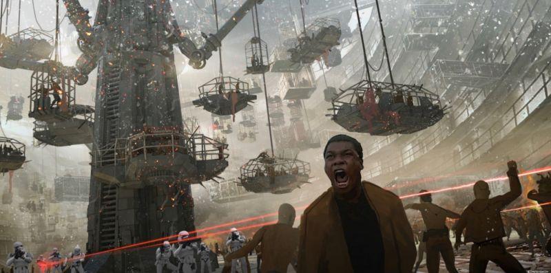 Gwiezdne wojny: John Boyega o pierwotnych planach na widowiskową scenę z Finnem w finale sagi