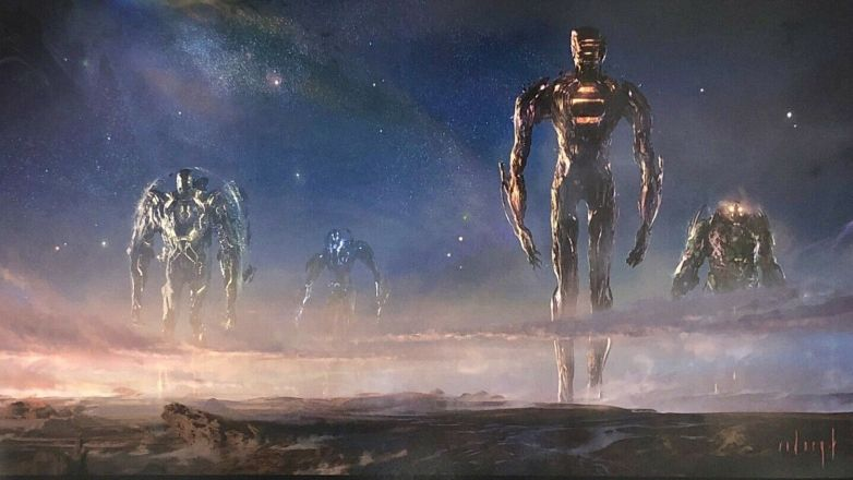 Eternals - tak będą prezentować się bohaterowie? Wyciekła grafika