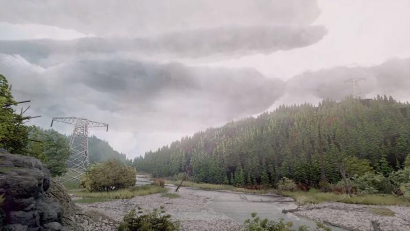 Dreams wykorzystane do stworzenia fotorealistycznego lasu