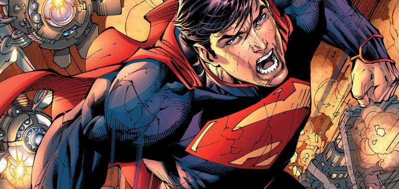 Tak mogła wyglądać gra z Supermanem od twórców serii Arkham. Szkic trafił do sieci
