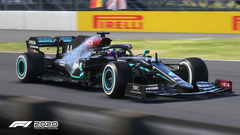 F1 2020 - Mercedes w końcu z właściwymi barwami