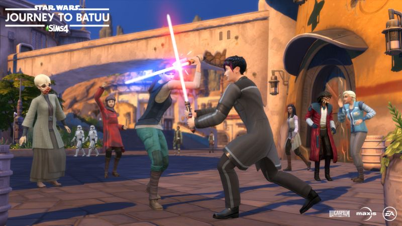 The Sims 4 - dodatek Wyprawa na Batuu zapowiedziany. Gwiezdne Wojny w świecie Simsów!