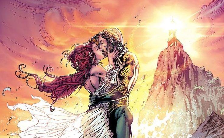 Aquaman i Mera w końcu biorą ślub. Mocne zakończenie serii