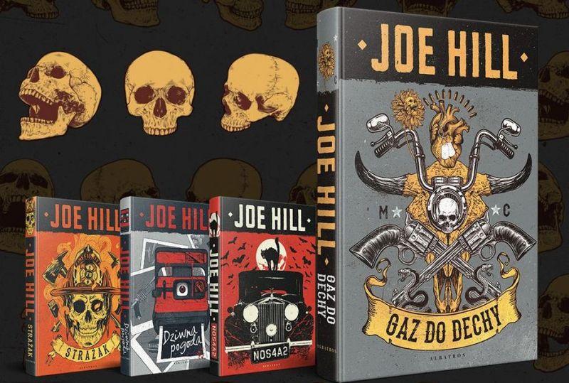Gaz do dechy i inne książki: zróżnicowana fantastyka Joe Hilla w księgarniach