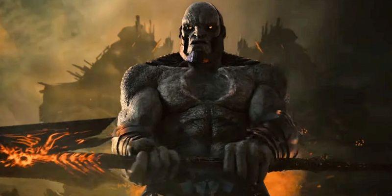 Zack Snyder's Justice League - Darkseid w pełnej zbroi na nowej grafice