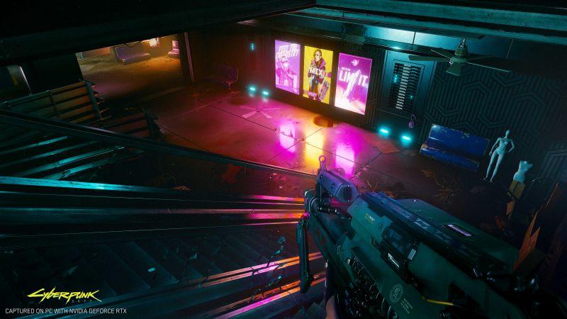 Cyberpunk 2077 błyszczy w nowym zwiastunie. Tak gra wygląda z technologią ray tracing