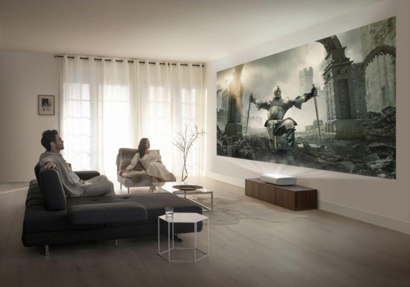 Samsung prezentuje The Premiere, domowy projektor 4K krótkiego rzutu