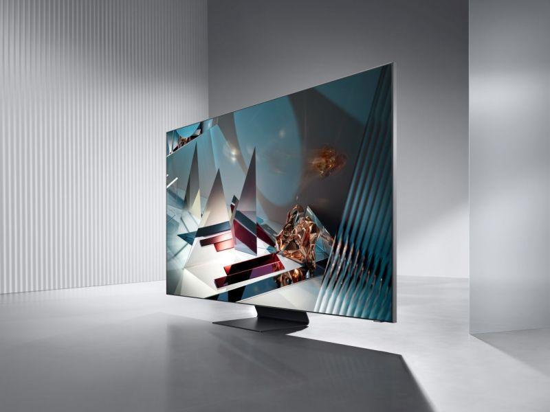 Samsung Q800T – sztuczna inteligencja ma utorować drogę do seansu idealnego