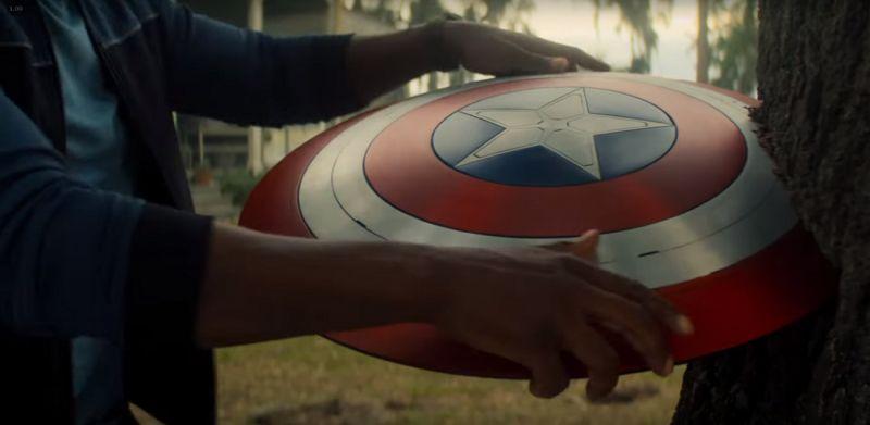 The Falcon and The Winter Soldier - U.S. Agent walczy z wrogiem na wideo z planu