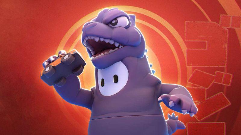 Fall Guys - Godzilla pojawi się w grze. Nowa skórka zapowiedziana