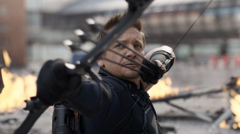 Hawkeye - Marvel pokazuje nowe logo z okazji 50. urodzin Jeremy'ego Rennera