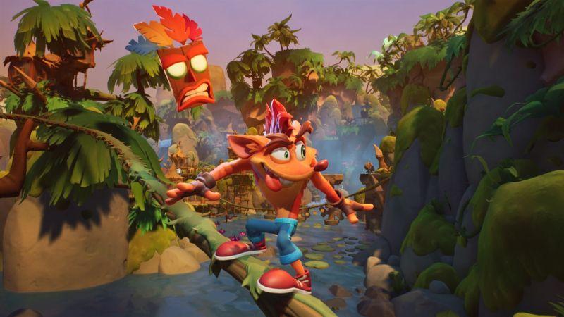 Crash Bandicoot 4 trafi na PC, PS5, Xbox Series X/S i Nintendo Switch. Jest nowy zwiastun