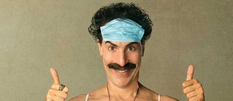 Borat 2 - Sacha Baron Cohen przekazał 100 tys. dolarów na kościelną zbiórkę dla opiekunki z filmu