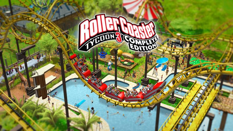 RollerCoaster Tycoon 3: Complete Edition - recenzja gry