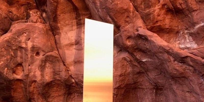 Tajemnica monolitu z Utah rozwiązana? Może pochodzić z planu filmowego