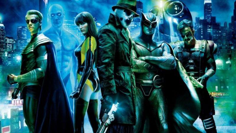 Watchmen - Dr Manhattan i Rorschach na szkicach koncepcyjnych z niezrealizowanego filmu reżysera Ultimatum Bourne'a