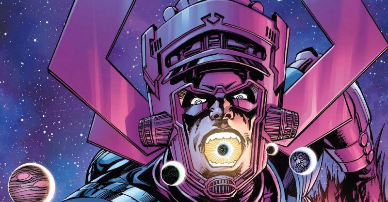 Galactus nie pożarł planety bo... dostrzegł małe dzieci i ptaszki na niebie. Przemiana złoczyńcy