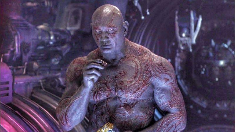 Strażnicy Galaktyki - Dave Bautista żałuje, że w filmach nie poznaliśmy historii Draxa