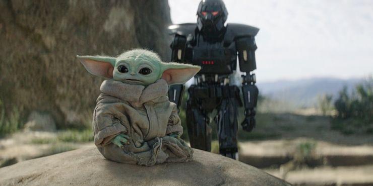 Baby Yoda słucha muzyki na planie. Mroczni szturmowcy to nie efekty komputerowe