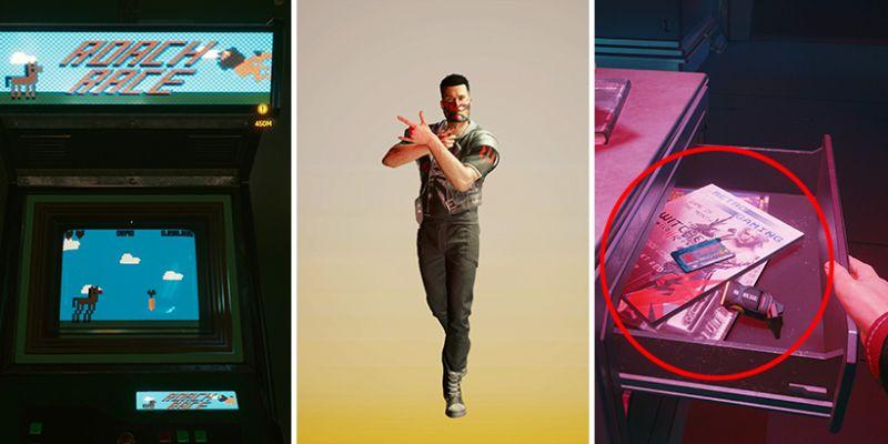 Cyberpunk 2077 - Wiedźmin, Blade Runner i o wiele więcej! Odkryjcie z nami easter eggi z gry