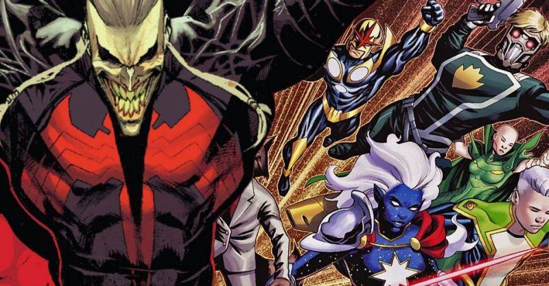 Marvel - Strażnik Galaktyki idzie po Knulla! Stał się tak potężny, że rozrywa smoki symbiontów