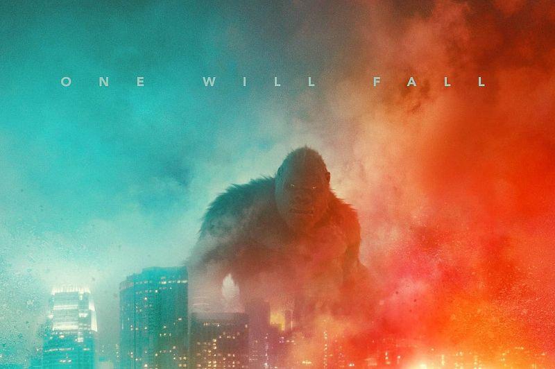 Godzilla kontra Kong - epicka zapowiedź zwiastuna. Król Potworów uderza z bani, a Kong ma maczugę!