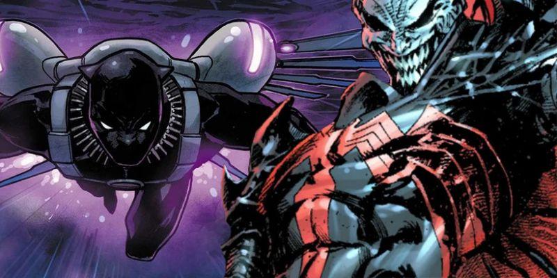 Marvel - jest mocny na Knulla! [SPOILER] symbiontem, Wakanda zgotowała piekło armii wroga