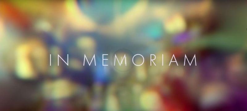 Oscary 2021 - obejrzyj In Memoriam w hołdzie zmarłym ludziom kina. Widzowie krytykują