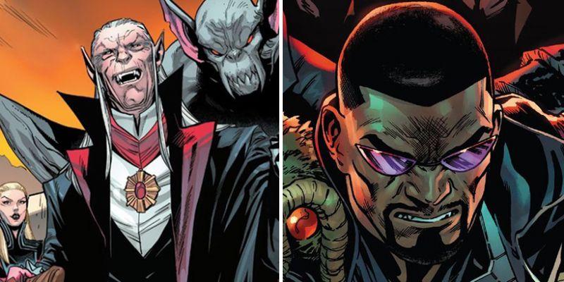 Marvel - Drakula ogłasza niepodległość państwa wampirów. Reakcja Blade'a jest bezcenna