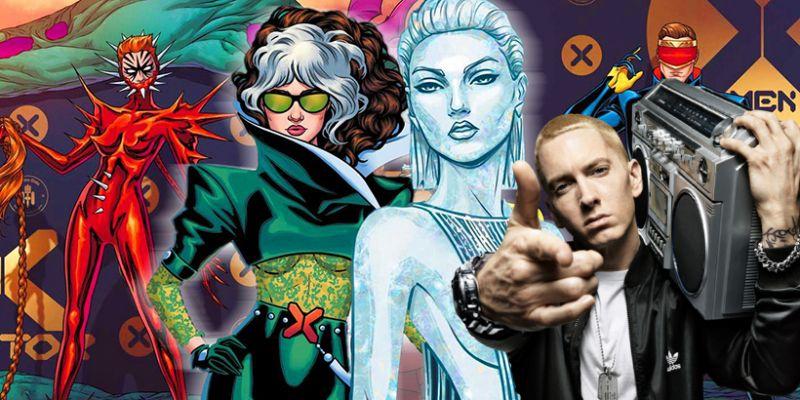 Eminem w komiksie o X-Menach! Na Hellfire Gala zaroi się od prawdziwych gwiazd