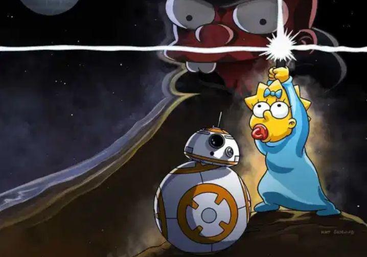 Star wars - Maggie Simpson walczy z ciemną stroną mocy w nowej krótkometrażówce. Zobaczcie plakat