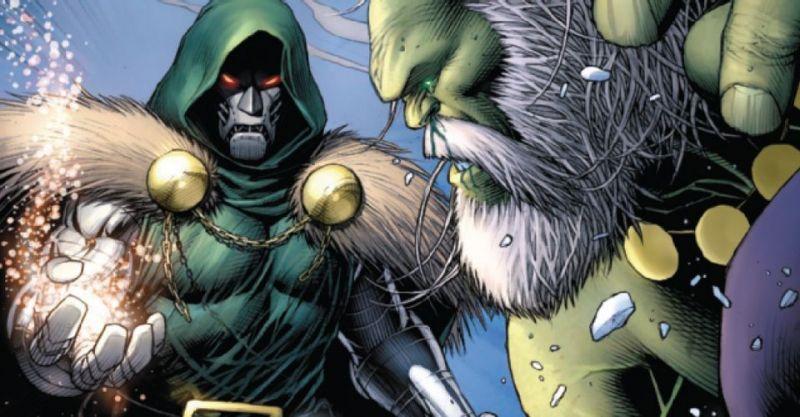 Marvel - złowieszczy Hulk i Doktor Doom idą na zwarcie. To będzie bitwa gigantów