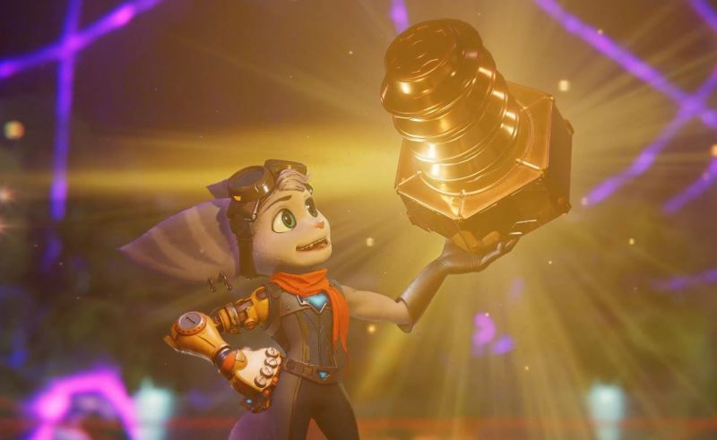 """Ratchet & Clank: Rift Apart pokryło się """"złotem"""". Twórcy chwalą się zakończeniem prac"""