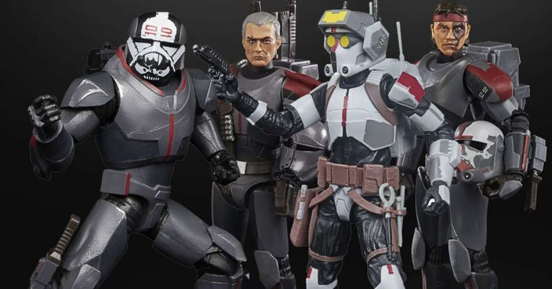 Star Wars: The Bad Batch - zdjęcia figurek z bohaterami animacji od Hasbro