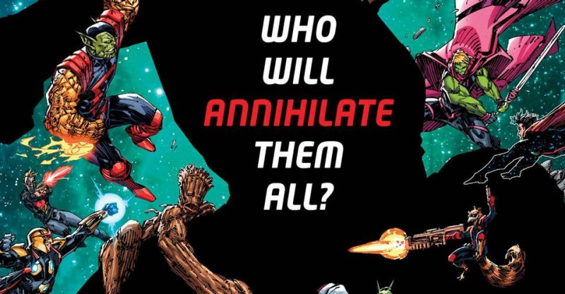 Strażnicy Galaktyki wchodzą w Ostatnią Anihilację. Najgroźniejszy wróg grupy w historii