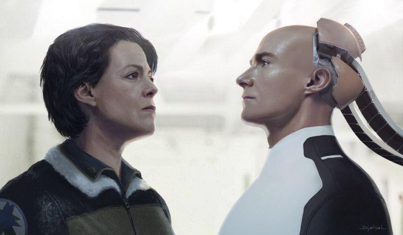 Obcy 5 - nowe szkice koncepcyjne z niezrealizowanego filmu. Ripley, Hicks i inni