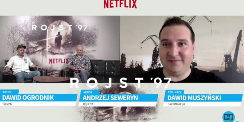 Dawid Ogrodnik i Andrzej Seweryn o serialu Rojst '97. Obejrzyj wywiad z aktorami!