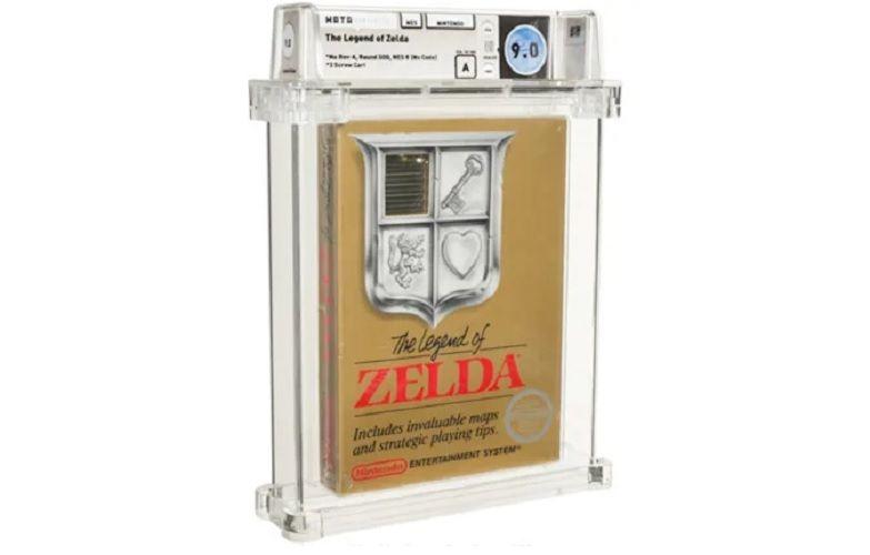 Rzadka kopia The Legend of Zelda sprzedana za miliony złotych