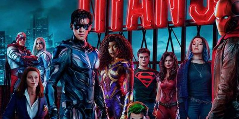Titans - nowy klip do 3. sezonu. Batman odpowie za tą śmierć?