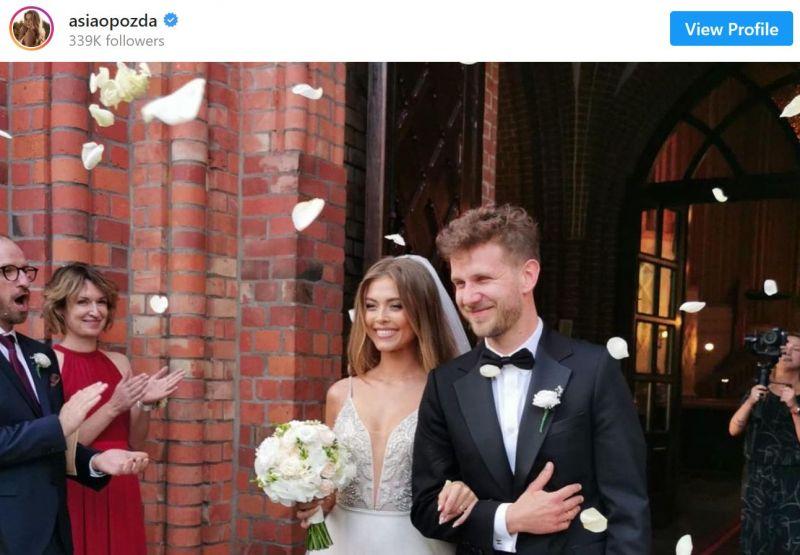 Antek Królikowski i Joanna Opozda małżeństwem. Tak wyglądał ślub aktorskiej pary [ZDJĘCIA]