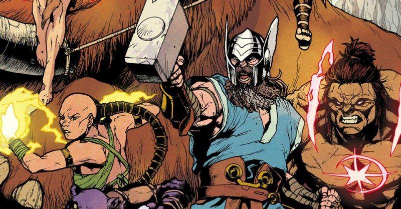 Eternals zmierzą się z prehistorycznymi Avengers. Odyn wzywa do ataku
