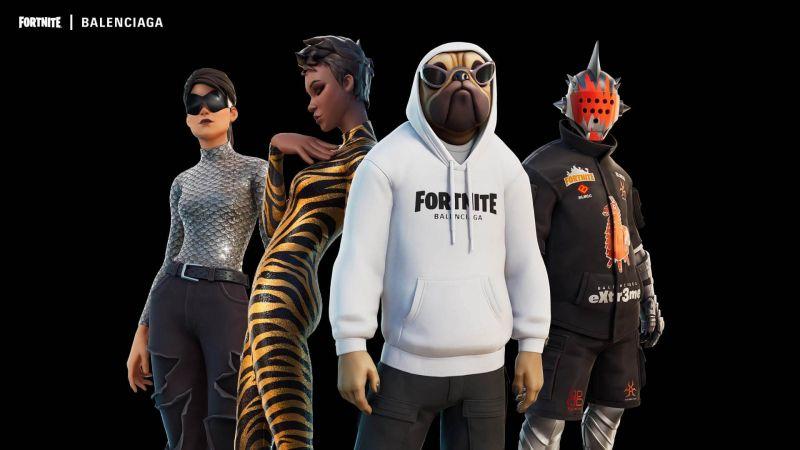 Fortnite nawiązuje współprace z firmą Balenciaga. Nowe ubrania w grze i nie tylko