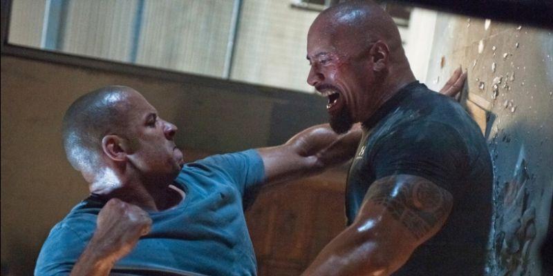 Dwayne Johnson kontra Vin Diesel. Niektóre rzeczy nie powinny być publikowane w sieci