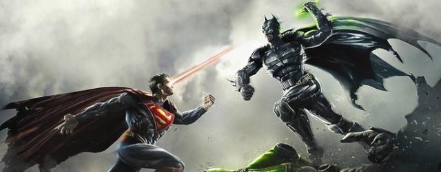 O tym jak Batman Supermanem poniewierał