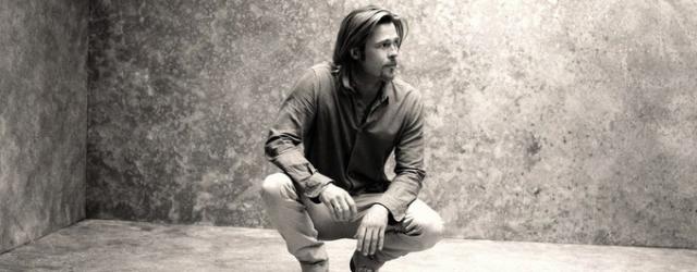 Stylowy sztywniak – Brad Pitt